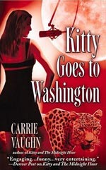 Kitty Goes To Washington by Carrie Vaughn Cover Picture