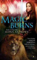 Magic Burns by Ilona Andrews Cover Picture