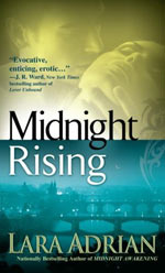 Midnight Rising by LAra Adrian Cover Picture